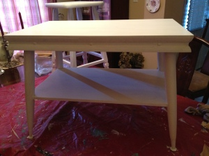 Before: 1970's coffee table