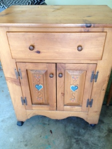 Vintage Country Cabinet