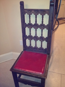 Before: Vintage Chair from Mexico