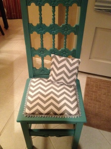 After: Vintage chair from Mexico