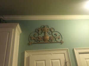 Here it is hanging In my kitchen over the pantry door. I love it!