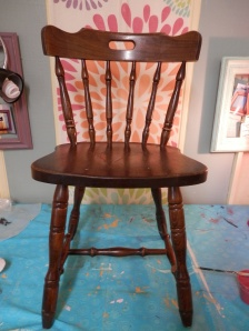 before pic of chair