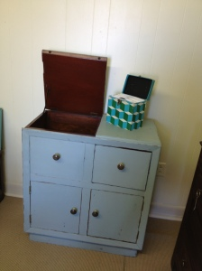 AFTER radio/stereo cabinet