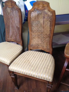 before of Sandra's chairs
