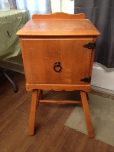 before telephone table