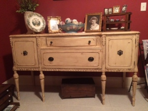 after picture of buffet/cabinet