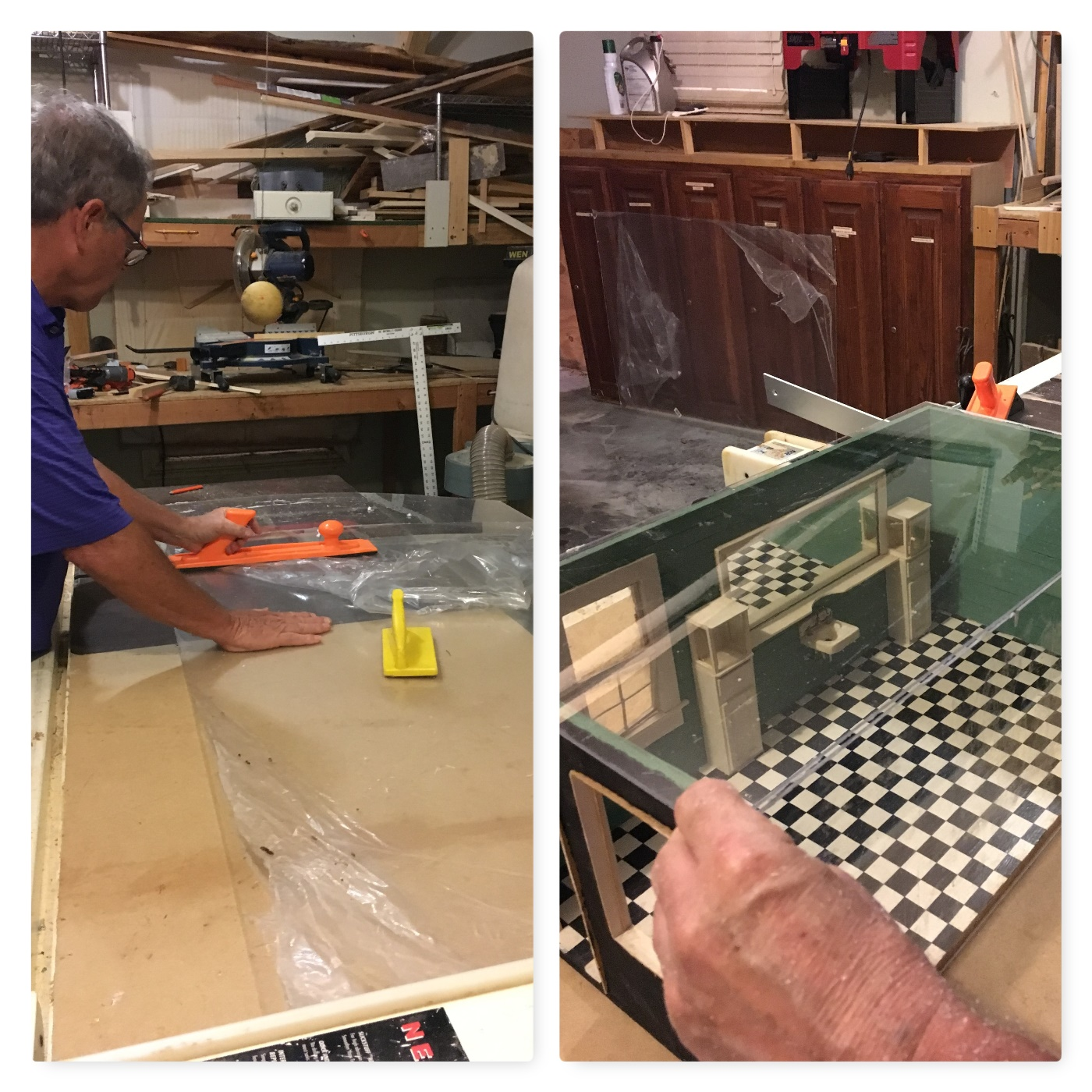 making plexiglass cover