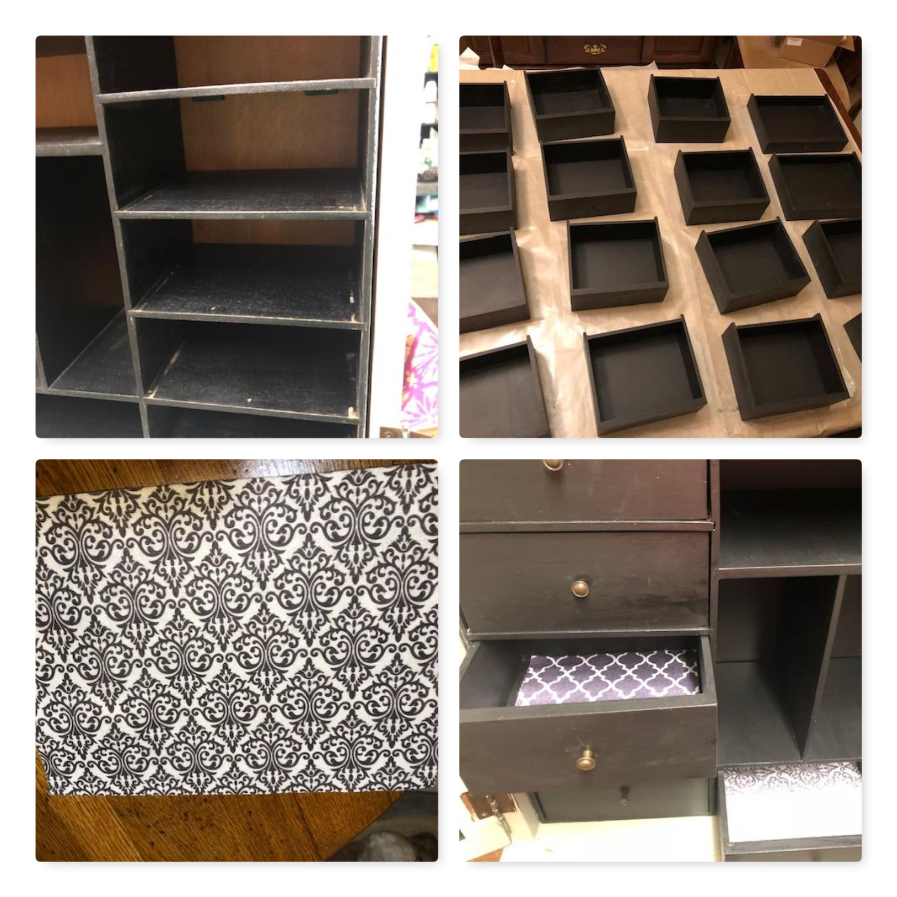 drawer collage